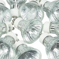 Lot de 10 ampoules GU10 40W (=50W)