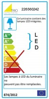 Applique LED d'extérieur Tay