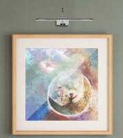 Applique tableau Led Paracuru 8W 619 lumens - chromée