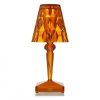 Battery Lampe Ambre - Kartell