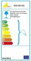 Borne d'extérieur Sambesi H.60 - Gris anthracite