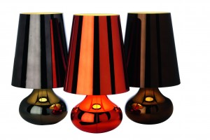 Cindy lampe canon fusil - Kartell