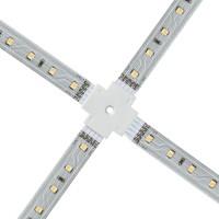 Connecteur ruban LED blanc