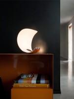 Curl lampe à poser chrome - Luce Plan