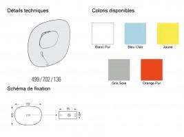 Applique extérieure LED Séléné H.50