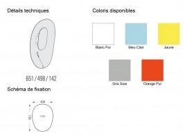 Applique extérieure LED Séléné H.65