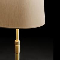 Lampadaire télescopique laiton (ABJ D.18 cm)