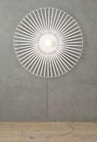 Applique Lisa Harpo - blanc - 1 lumière - D.55