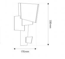 Map 1 applique design - DCW