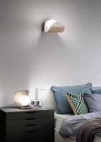 Lampe à poser LED Adria blanche