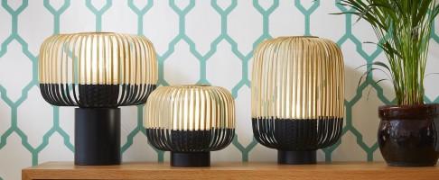 Lampe à poser Bamboo H.39 - Forestier