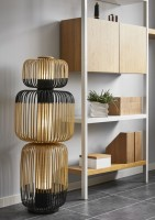 Lampadaire Totem Bamboo - Forestier