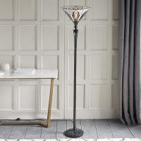 Lampadaire Tiffany Astoria H.175 60W