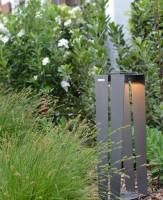 Lanterne d'extérieur solaire et rechargeable Skaal H.70