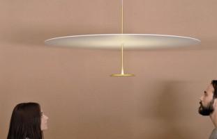 Dot 600 suspension Led laiton - Lumina