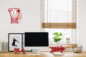 Applique murale panier de Basket