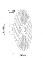 Applique / Plafonnier Waterlily D.40