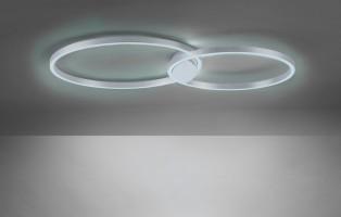 Plafonnier connecté Q-Siena LED 4400lm