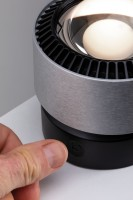 Spot à poser LED noir 400lm