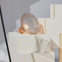 Lampe à poser Tidelight transparent