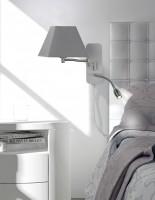 Applique tête de lit Adagio ABJ gris