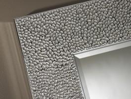 Miroir Oslo argent 102x102