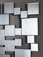 Miroir moderne Pixels 141x85