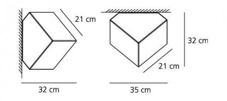 Edge Ø 21 Applique / Plafonnier - Artemide