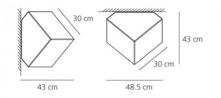 Edge Ø 30 Applique / Plafonnier - Artemide