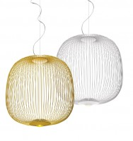 Spokes 2 suspension blanc - Foscarini