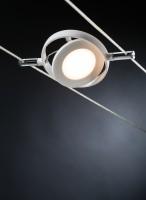 Kit spots sur câble Roundmac LED 4x4W