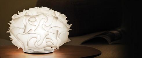 Veli lampe à poser opale D.32 - Slamp