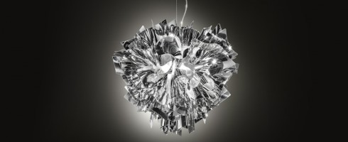 Veli suspension Silver - Slamp