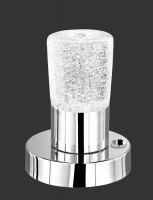 Lampe Bulles LED 4.5W chromée