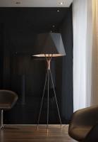 Lampadaire Solitaire XS Noir - CVL Contract