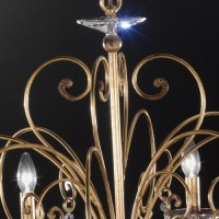 Lustre Damasco Oro