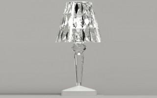 Battery Lampe cristal - Kartell