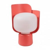 Blom lampe à poser - Fontana Arte - Rose