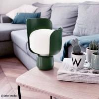 Blom lampe à poser - Fontana Arte - Vert