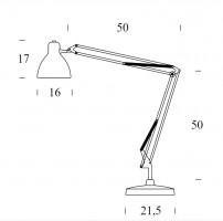 Lampe de bureau Led Naska - Fontana Arte