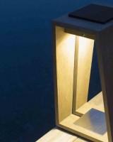Lanterne d'extérieur Skaal Teck 500 lm - H.65