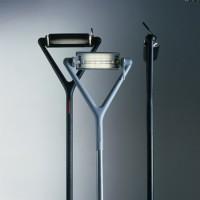 Lola lampadaire télescopique design alu - Luce Plan