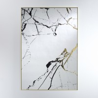 Miroir Marble doré Deknudt Mirrors