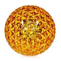Planet lampe à poser LED ambre - Kartell