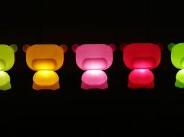 Lampe d'extérieur Pure Rouge
