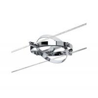 Spot sur câble Cardan chrome mat 10 W max GU5.3