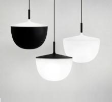 Suspension Cheshire LED - Fontana Arte - Blanc