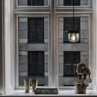 Suspension Acorn Noir/Laiton - Vita Copenhagen