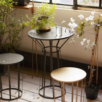 Table bistrot HOLLO - noir
