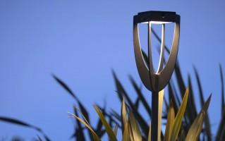 Torche d'extérieur solaire Tulip rechargeable 300 lm